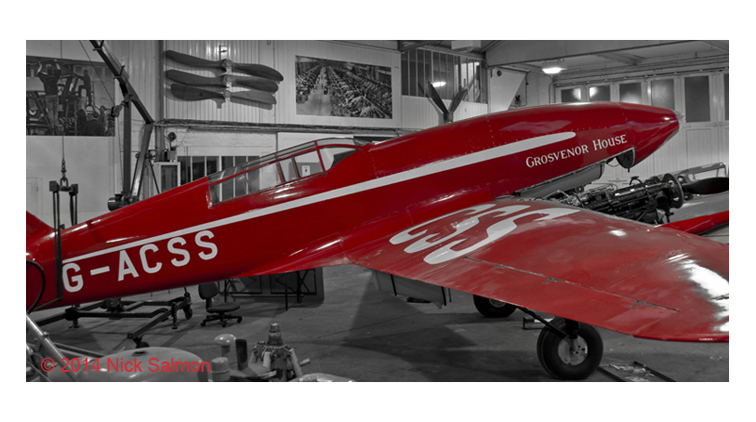 De Havilland DH55 'Grosvenor House' at the Shuttleworth Collection, Old Warden.